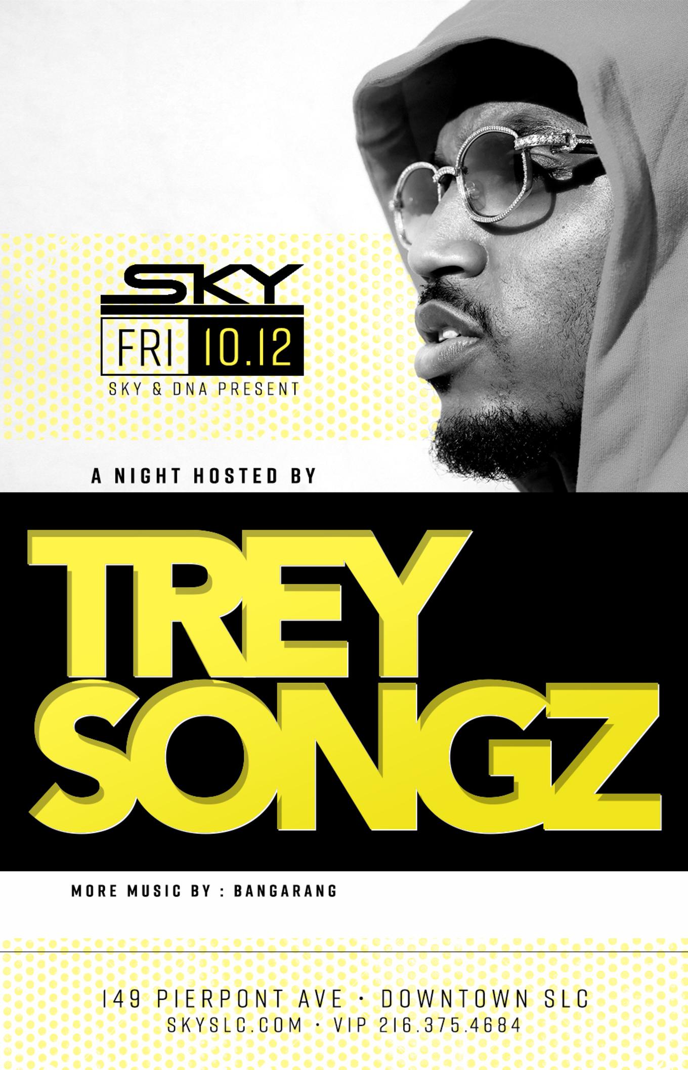 A Night Hosted By Trey Songz Tickets Sky Slc Salt Lake City Ut