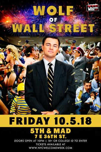 The Wolf of Wallstreet @ 5th & Mad