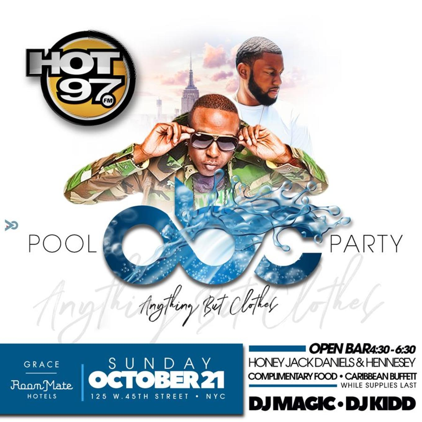anything but clothes pool party tickets dip aqua bar and lounge
