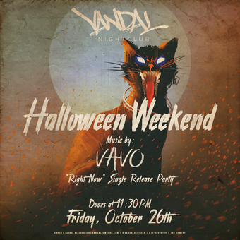 Friday Halloween at Vandal