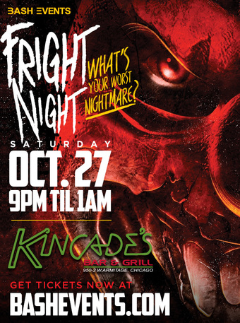 Fright Night at Kincades Bar & Grill