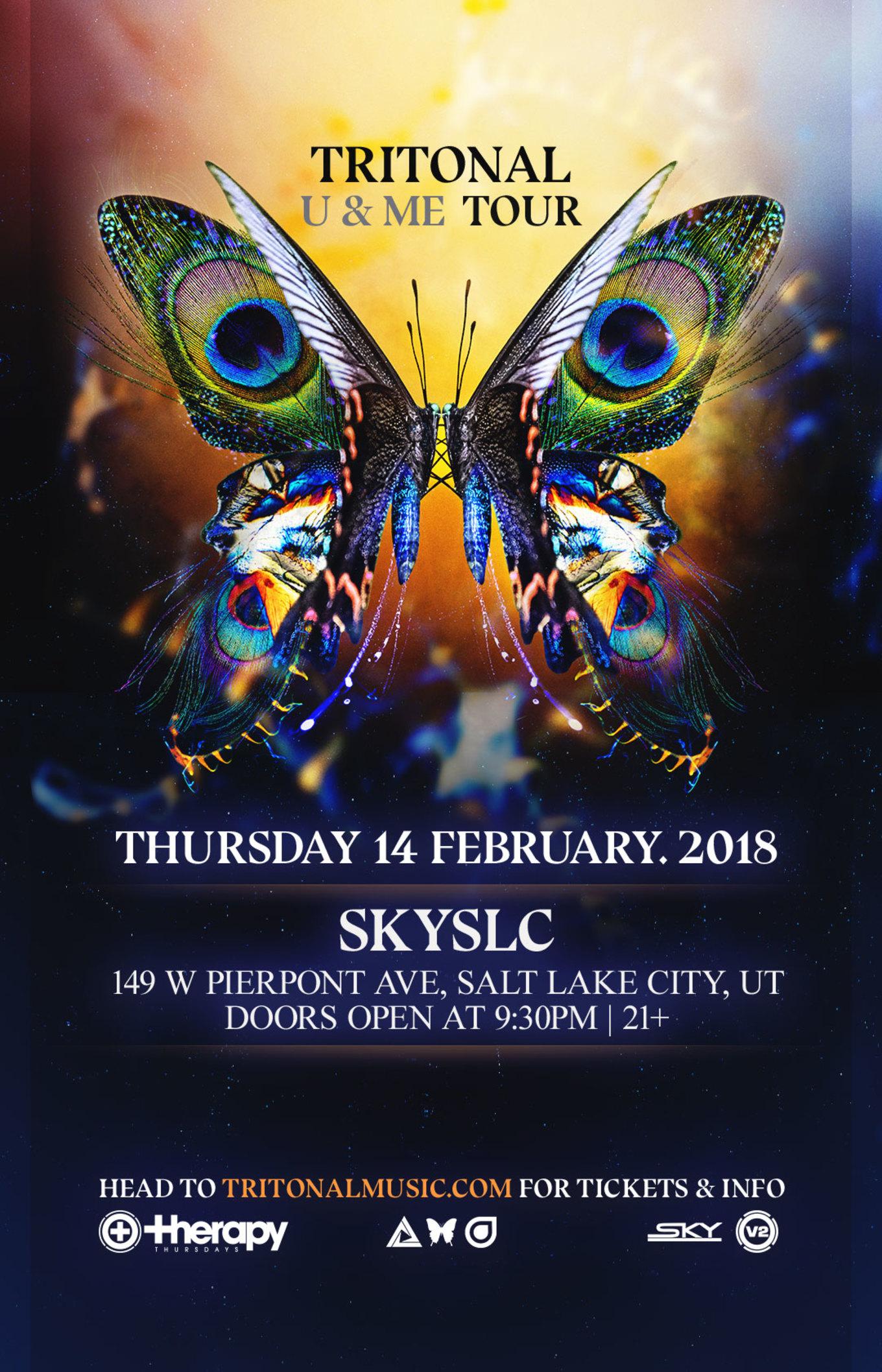 Therapy Thursdays Tritonal Ume Tour Tickets Sky Slc Salt Lake