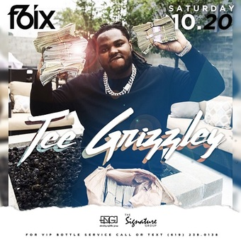 "F6ix Presents Live Performance by ""Tee Grizzley"""