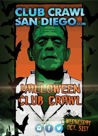 SAN DIEGO 10/31 HALLOWEEN NIGHT CLUB CRAWL