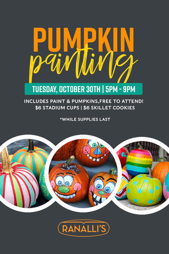 Pumpkin Painting Party at Ranalli's