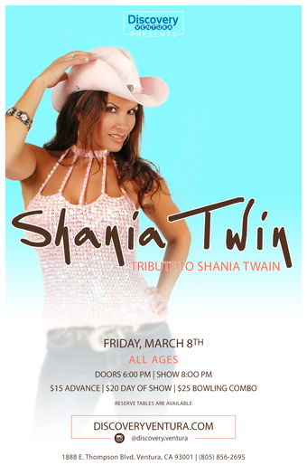 Shania Twin - Tribute to Shania Twain at Discovery Ventura