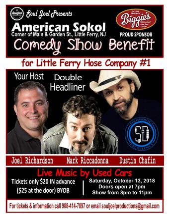 Little Ferry Hose Company #1 Comedy Fundraiser