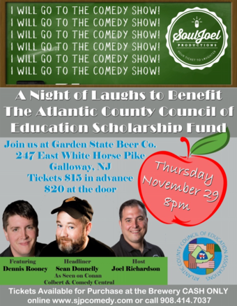 Galloway: A Night of Laughs at Garden State Beer Company