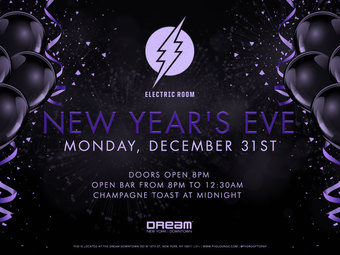 ELECTRIC ROOM at DREAM DOWNTOWN NEW YEAR'S EVE 2019