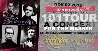 Devotional - The Depeche MODE Experience 101 TOUR San Diego presented by BLK OWL