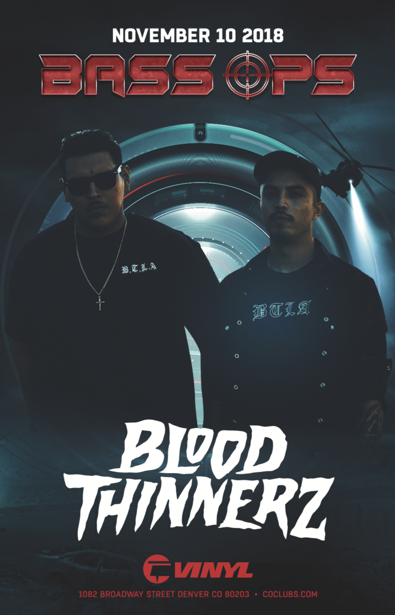 bass ops  bloodthinnerz - tickets