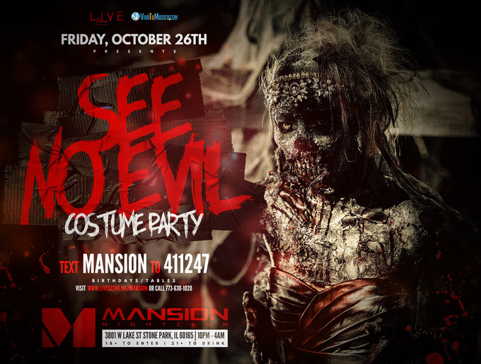 See No Evil Halloween Party