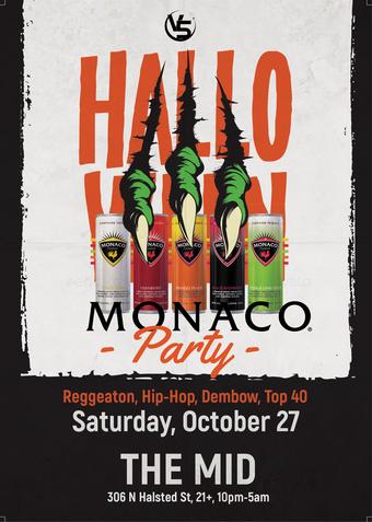 Halloween Monaco Party