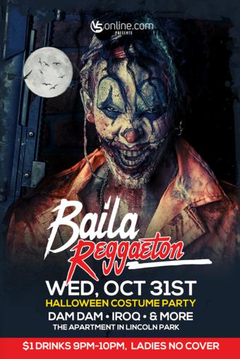 Baila Reggeaton on Halloween Night