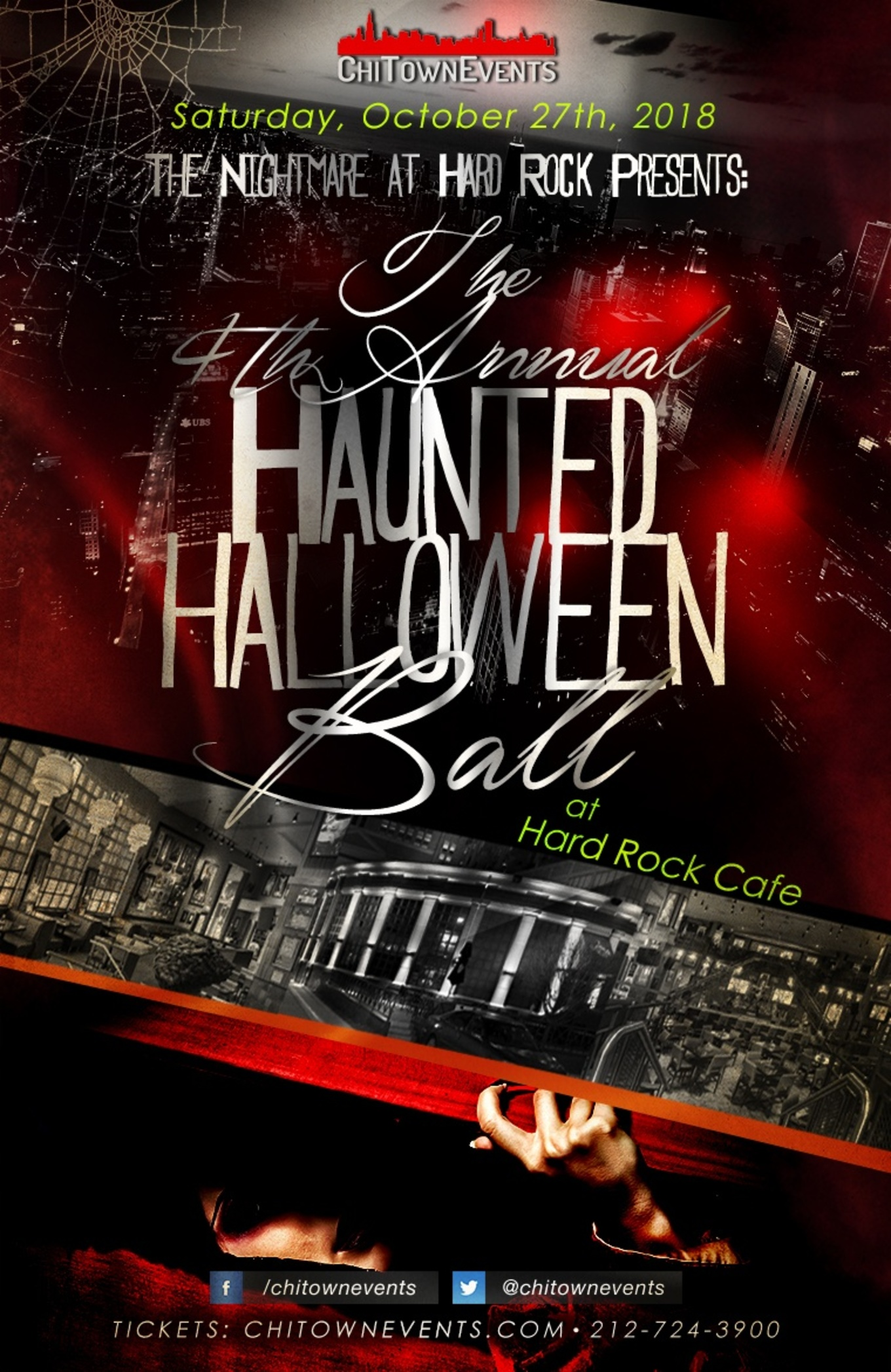 the nightmare at hard rock cafe presents the haunted halloween ball