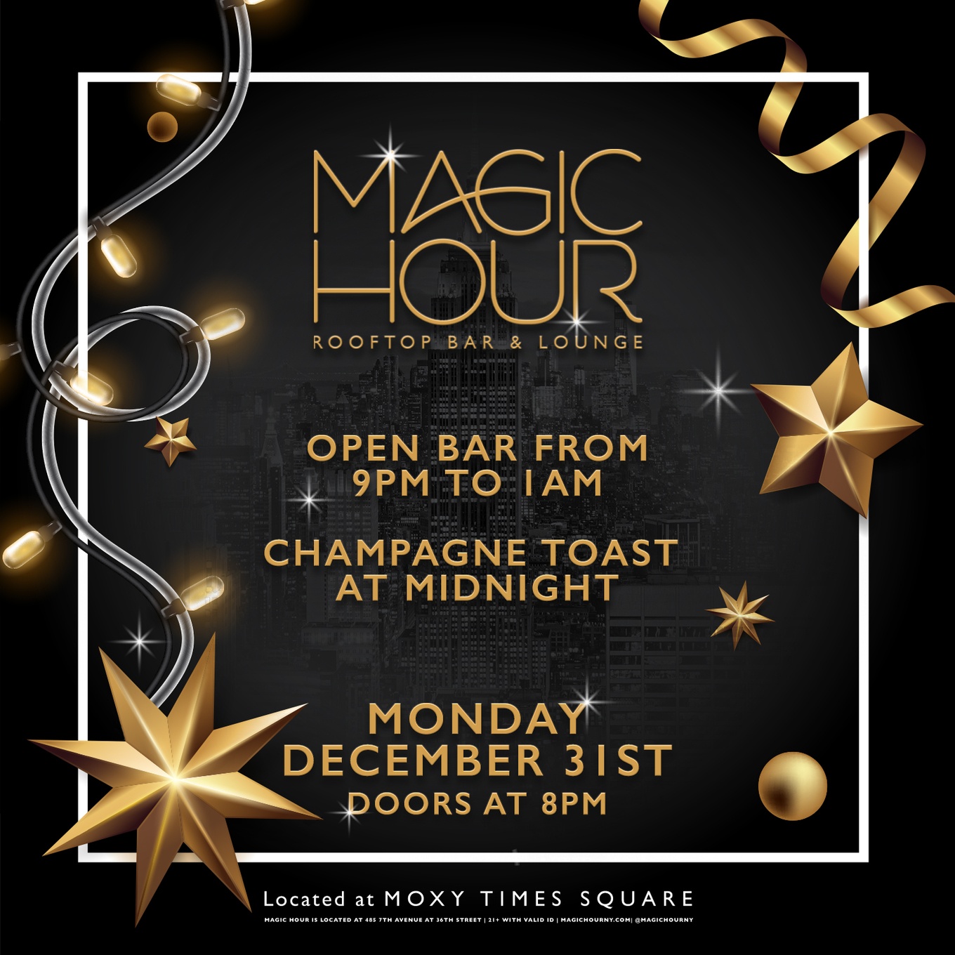 New Years Eve 2019 At Magic Hour