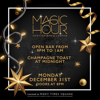 New Year's Eve 2019 at Magic Hour