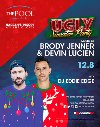 Ugly Sweater Party with Brody Jenner & Devin Lucien
