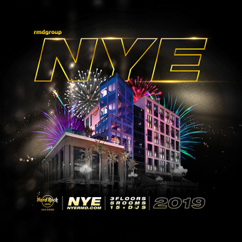 NYE 2019 Hard Rock Hotel San Diego
