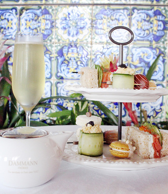 Afternoon Tea at THE MED