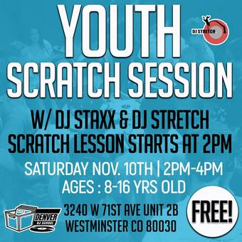 Free Youth Scratch Session November