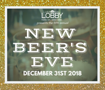 New Beer's Eve 2018