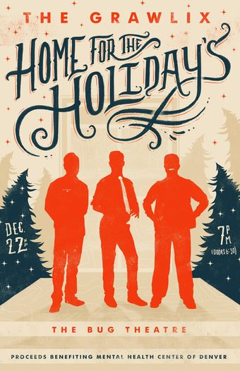 High Plains Presents The Grawlix, Home for the Holidays: A Fundraiser