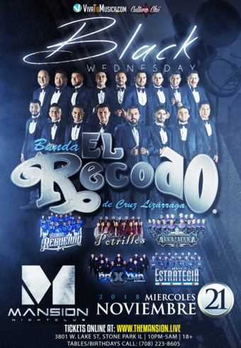 Banda El Recodo at Mansion Nightclub