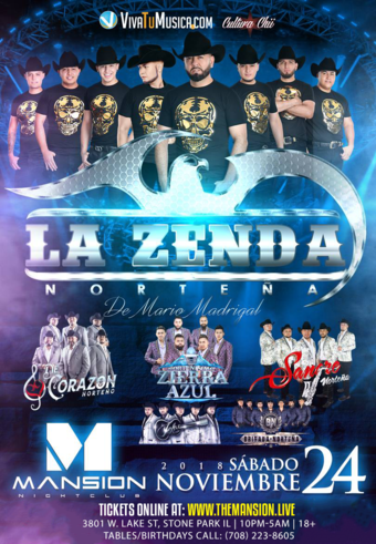 La Zenda Norteña at Mansion Nightclub