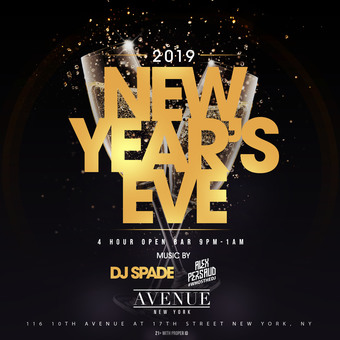 NYE 2019 at Avenue