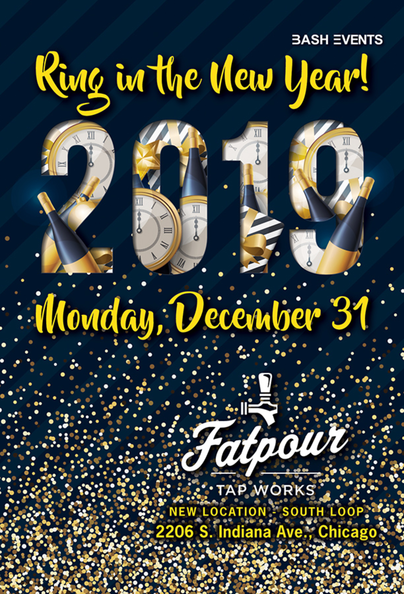 New Years Eve Events 2019 New Year's Eve 2019: Fatpour Tapworks (McCormick)   Tickets