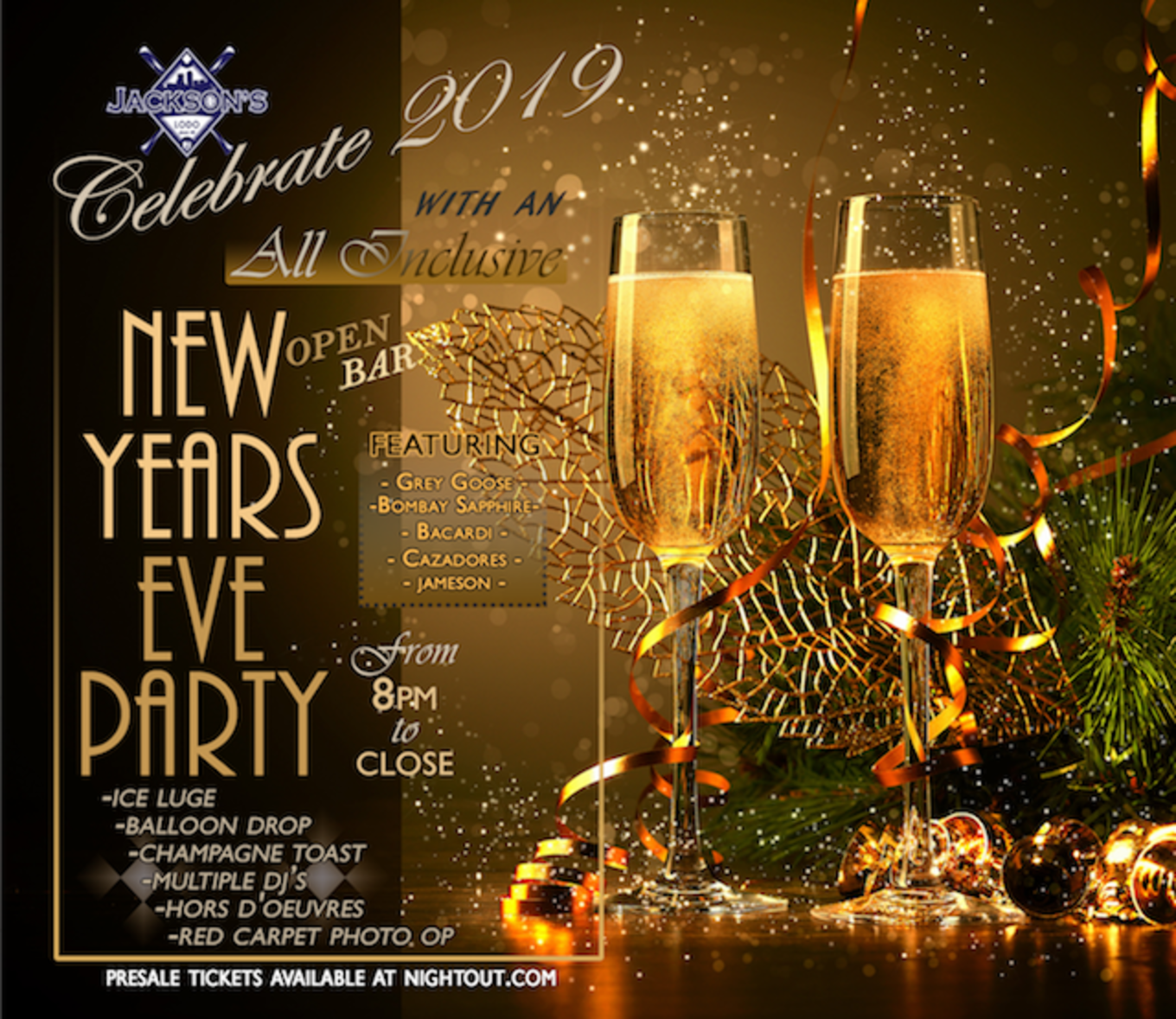 New Years 2019 At Jackson's