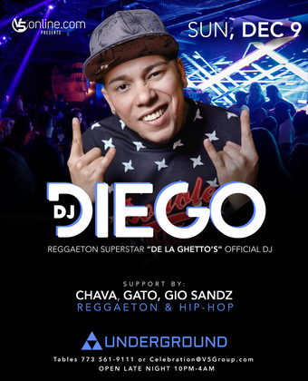DJ Diego at The Underground Chicago