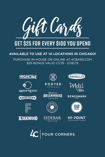 Ranalli's Gift Card Promotion