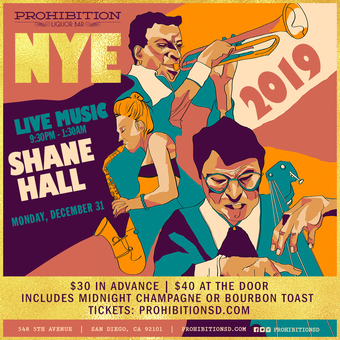 New Year's Eve at Prohibition