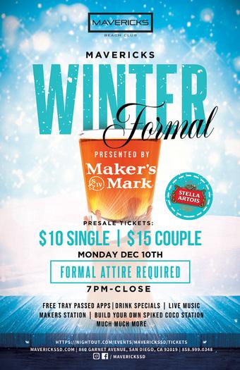 Mavericks Winter Formal presented by Makers Mark