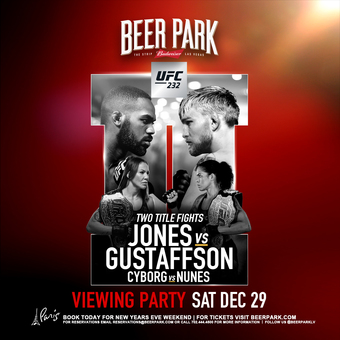 UFC 232 Viewing Party