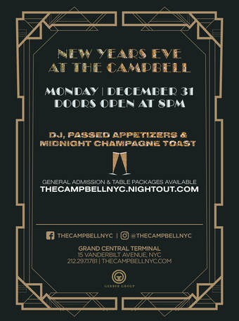 New Year's Eve at The Campbell
