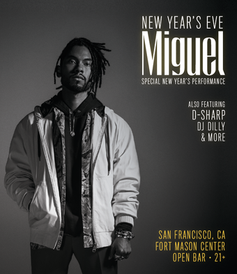 San Francisco New Year's Eve with MIGUEL