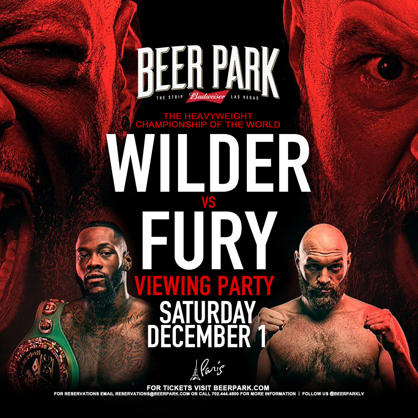 Wilder Vs Fury Viewing Party