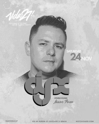 Vida27! DJ-X (Marc Poise)