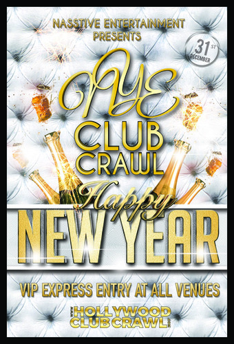 NYE CLUB CRAWL to LURE (open bar)
