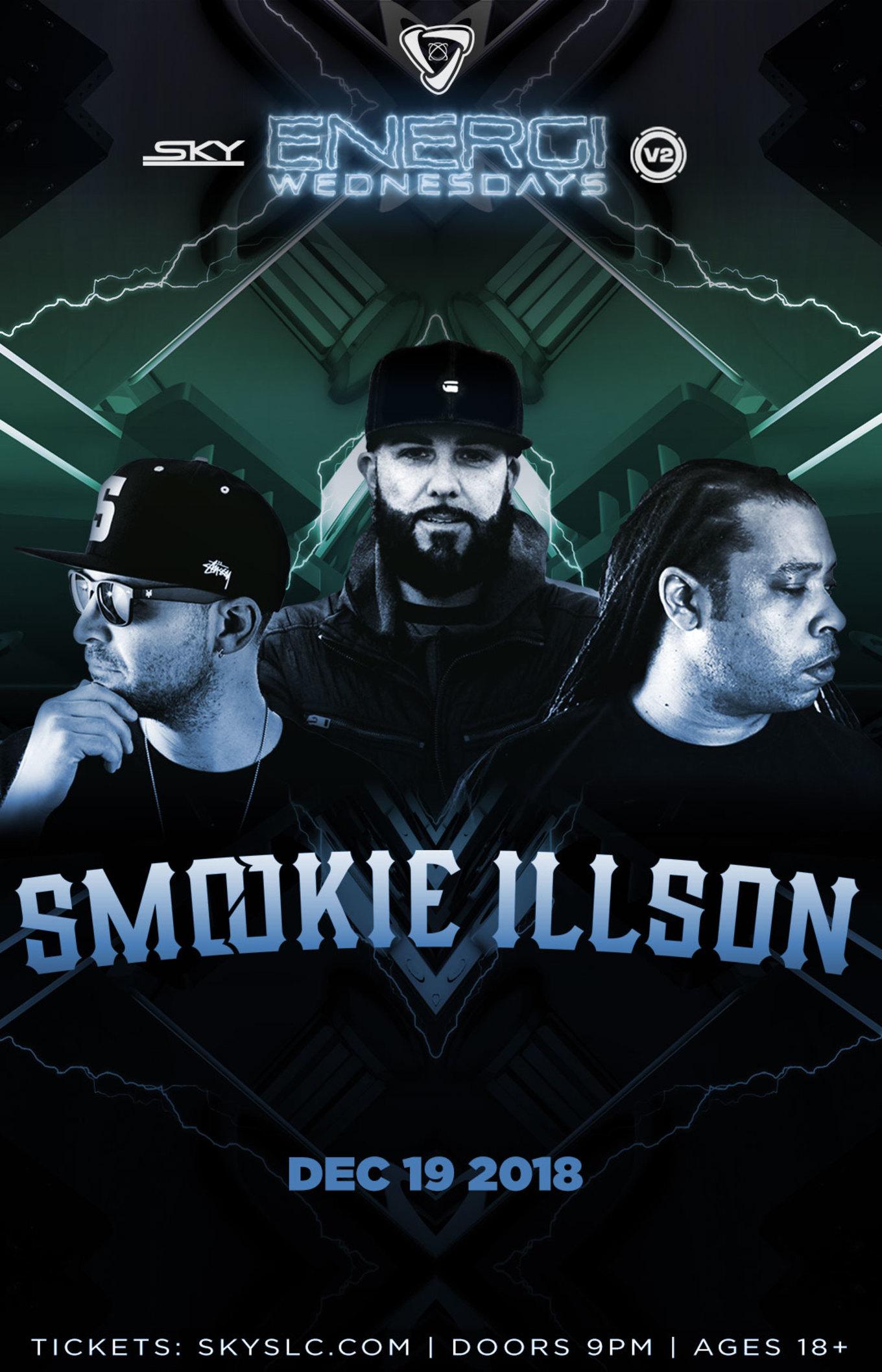 ENERGI WEDNESDAYS : Smookie Illson - Tickets - Sky SLC, Salt