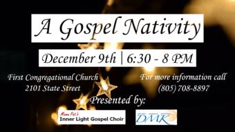 """A Gospel Nativity"" presented by Inner Light Community Choir and DMK Studio"