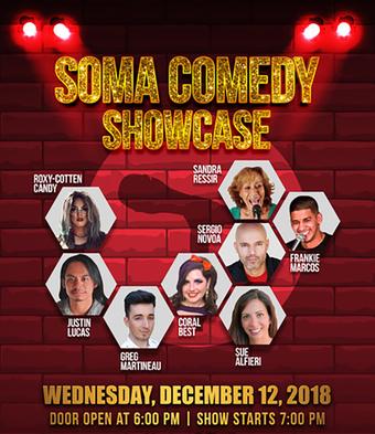 Soma Comedy Showcase