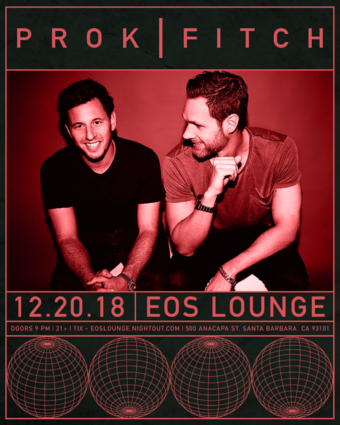 EOS Lounge's RED XMAS PARTY w/ Prok & Fitch (Relief) 12.20.18