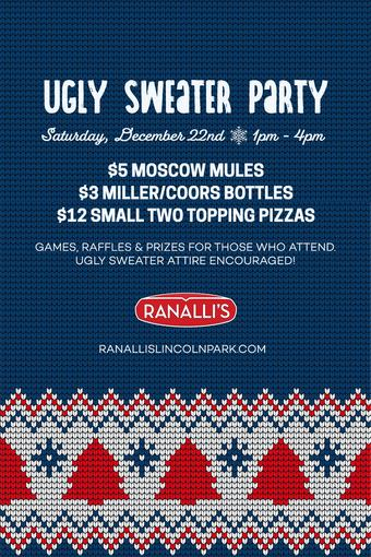 Ugly Sweater Party at Ranalli's