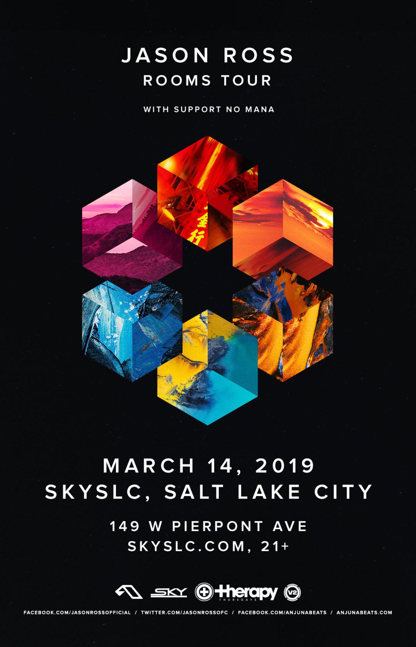 Therapy Thursdays Jason Ross Tickets Sky Slc Salt Lake City