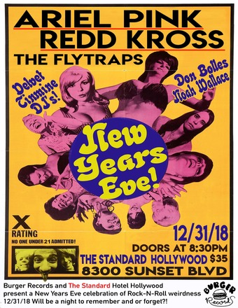 New Years Eve with Burger Records