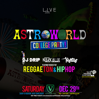 Astroworld College Party (18+)